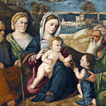 Holy Conversation by Pietro degli Ingannati