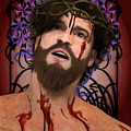 Holy Face Of Ecce Homo by Joaquin Abella