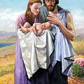 Holy Family by Alexander Chernitsky