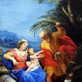 Holy Family by Munir Alawi
