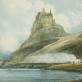 Holy Island by Castle