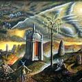 Holy Island by Tighe O'DonoghueRoss