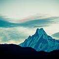 Holy Mount Fish Tail Machhapuchare 6998 M by Raimond Klavins