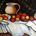 Homage To Cezanne by Lia  Marsman