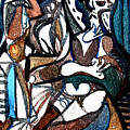 Homage To Digital Picasso by Mindy Newman