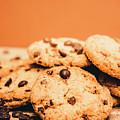 Home Baked Chocolate Biscuits by Jorgo Photography - Wall Art Gallery