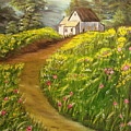 Home In Springtime by Kenneth LePoidevin