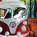 Home Is Where The Van Is by Lori Teich