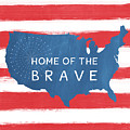 Home Of The Brave by Linda Woods