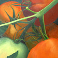 Homegrown Tomatoes by Diana Davenport
