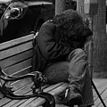 Homeless - Bw by Lawrence Drake