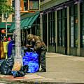Homeless In Nyc by Charles A LaMatto