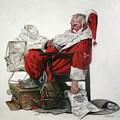 Homeless Santa by Margot King