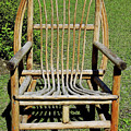 Homemade Lawn Chair by D Hackett