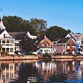 Homes On Kennebunkport Harbor by Library Of Congress