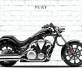 Honda Fury by Mark Rogan