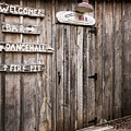 Hondo's Bar At Luckenbach Texas by Andy Crawford