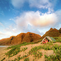 Honeymoon On Polihale Beach by T Brian Jones