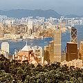Hong Kong And Kowloon by Mark Forte