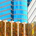Hong Kong Architecture 6 by Randall Weidner