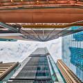 Hong Kong Buildings Colour by Charles King