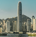 Hong Kong - Downtown Waterfront by Mark Forte