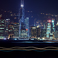 Hong Kong Harbor by Brad Rickerby
