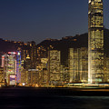 Hong Kong Harbor December 1 by Brad Rickerby