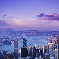 Hong Kong Harbor by Gloria & Richard Maschmeyer - Printscapes