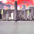 Hong Kong Skyline by Yazz