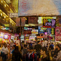 Hong Kong Streets by Stuart Row