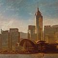 Hong Kong - Hong Kong Sunrise by Mark Forte
