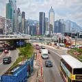 Hong Kong Traffic II by Ronald Bolokofsky