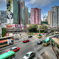 Hong Kong Traffic by Ronald Bolokofsky