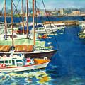 Hong Kong Victoria Harbor by Guanyu Shi