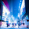 Hong Kong Night Street by Perfect Lazybones
