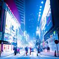 Hong Kong Night Street by Perfect Lazybones