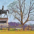 Honoring The American Heroes Of Gettysburg - 3 by Digital Photographic Arts