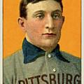 Honus Wagner, Pittsburg Pirates by Thomas Pollart