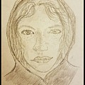 Hooded Girl  by Richard Howell