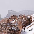 Hoodoos In Snow by Viktor Savchenko