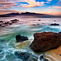 Hookipa Sunrise  by Nature  Photographer