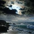 Hookipa Waiola  O Ka Lewa I Luna Ua Paaia He Lani Maui Hawaii  by Sharon Mau