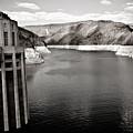 Hoover Dam Intake Towers #2 by Robert J Caputo