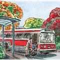 Hop On A Bus by Irina Sztukowski