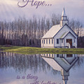Hope Is A Thing With Feathers - Inspirational Art by Jordan Blackstone