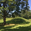 Hopewell Indian Burial Mound by The Art of Alice Terrill