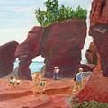 Hopewell Rocks2 by Linda Feinberg