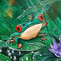 Hoppin' In The Rain by Nicolas Avet