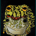 Horny Toads 2 With Lettering by Leah Saulnier The Painting Maniac